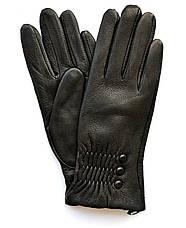 Женские кожаные перчатки из оленьей кожи с шерстяной подкладкой, фото 2
