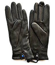 Женские кожаные перчатки из оленьей кожи с шерстяной подкладкой, фото 3