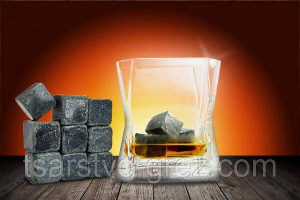 Камені для Віскі Whiskey Stones WS (9шт в упаковці)