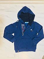 Детская толстовка с капюшоном Cold&Steel синяя, фото 1