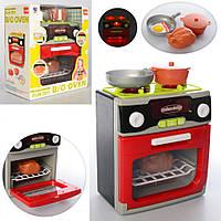 Кухня игровой набор на батарейках (плита, посуда, продукты) звуковые и световые эффекты \ RT - XS-14067