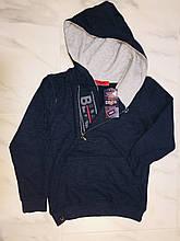 Толстовка с капюшоном Cold&Steel, т. синий на подростка