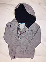 Детская толстовка с капюшоном Cold&Steel, серый, фото 1