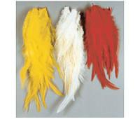 Набор перьев Lineaeffe  для вязания нахлыстовых приманок  цвет-белый