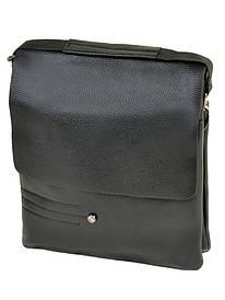 Мужская сумка через плечо черная иск-кожа DR. BOND 205-4 black