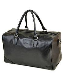 Мужская сумка дорожная черная иск-кожа DR. BOND 8715 black
