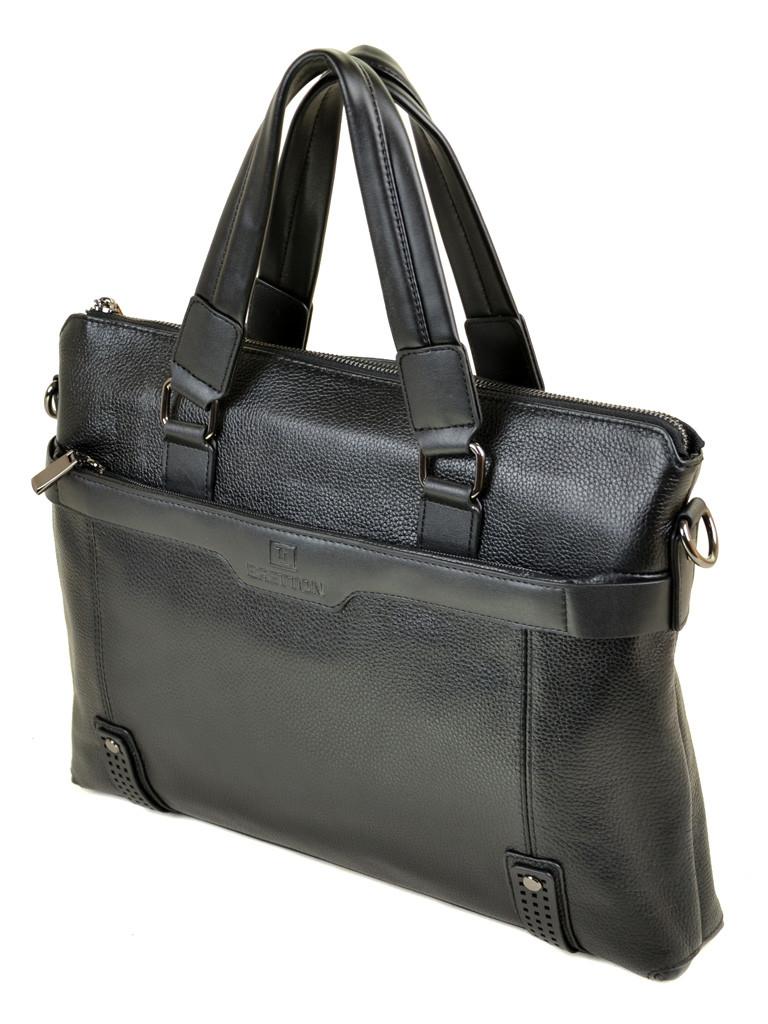 Сумка Мужская Портфель кожа BRETTON 603 черный
