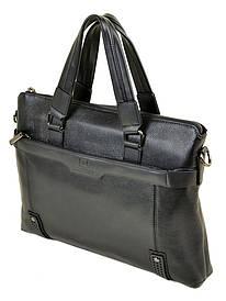 Сумка Мужская Портфель кожа BRETTON 603 black