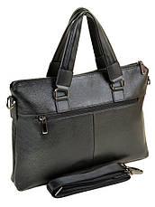 Сумка Мужская Портфель кожа BRETTON 603 черный, фото 2