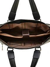 Сумка Мужская Портфель кожа BRETTON 603 черный, фото 3