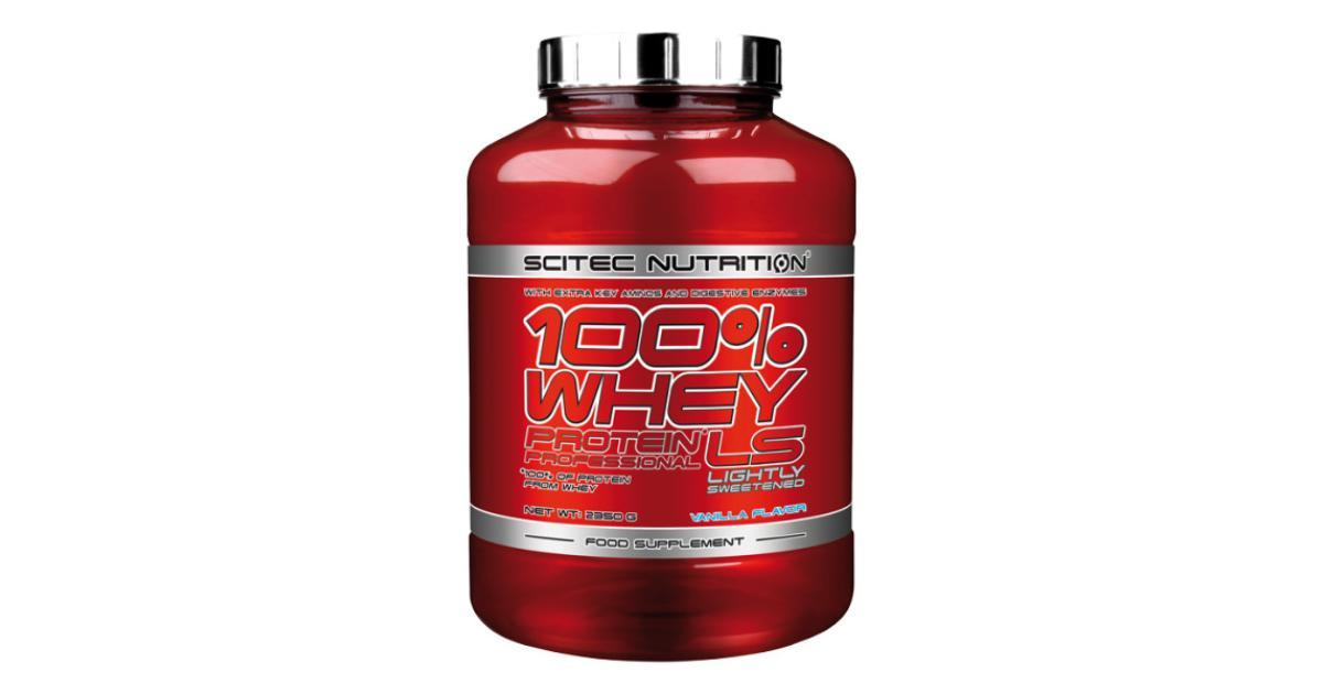 Протеин Scitec Nutrition 100% Whey Protein Professional LS 2,35 kg