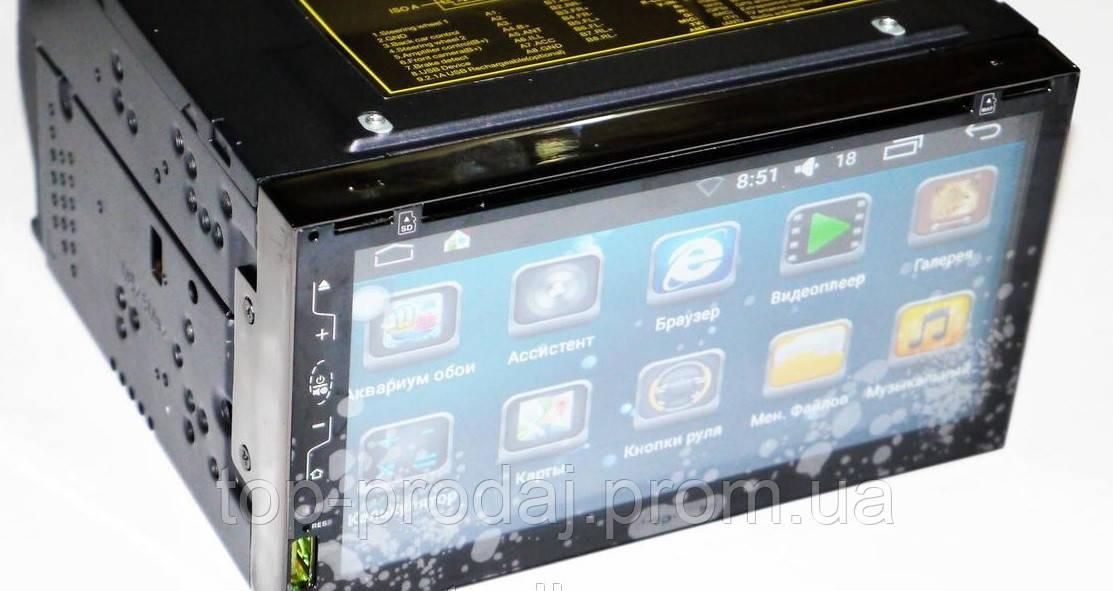 Автомагнитола 2DIN 6309-3 Android GPS, Сенсорная магнитола, Магнитола автомобильная универсальная 2 дин