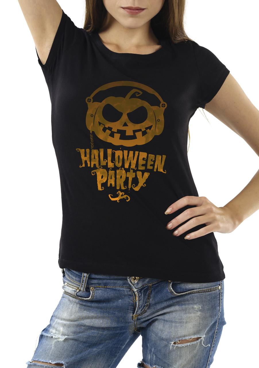 "Женская футболка ""Halloween Party"""