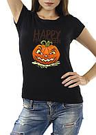 """Женская футболка """"Happy Halloween"""""""