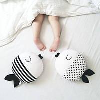 """Детская подушка игрушка """"Рыбки"""" (30*30см), фото 1"""