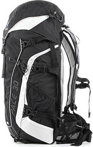 Треккинговый, прочный рюкзак на 30 л. ACT DEUTER PACE 30, 33620 71300 черно-белый
