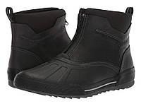 Ботинки Clarks Bowman Top Black Waterproof Leather - Оригинал