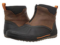 Ботинки Clarks Bowman Top Dark Tan Waterproof Leather - Оригинал