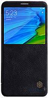 Чехол Nillkin Qin Series Xiaomi Redmi Note 5 Pro, Redmi Note 5 Black