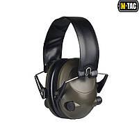 Навушники стрілецькі активні M-Tac Olive