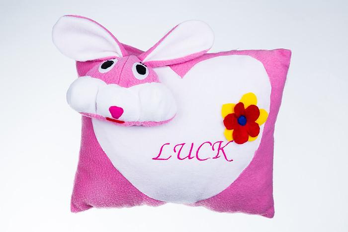 Декоративная подушка Зайчик