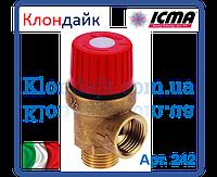 ICMA Предохранительный клапан 3 ваr нар.резьба