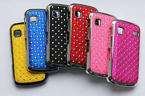 Чехлы для Samsung Galaxy Gio S5660 с кристаллами