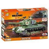 Конструктор Cobi World Of Tanks М46 Паттон, 525 деталей (5902251030087)