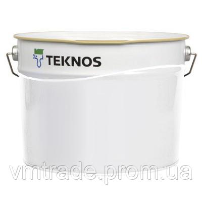 Эпоксидная грунт-краска Текнос Текнопласт HS 150,  7.2+2л, желтая