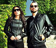 52a359793cf Стильная женская кожаная куртка демисезон до больших размеров 21