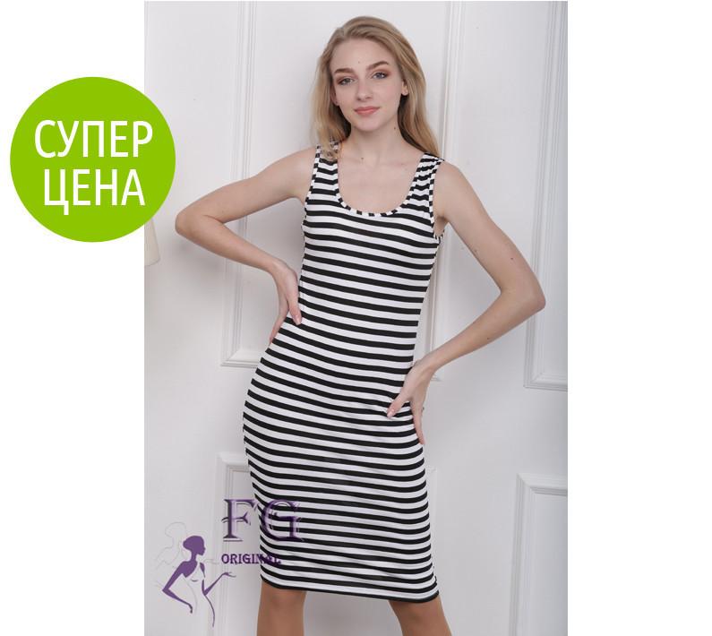 09eff6a0992 Платье - тельняшка удлиненное