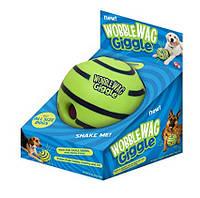 Игрушка Для Собак Хихикающий Мяч Wobble Wag Giggle Мячик, фото 1