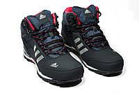 Зимние ботинки (на меху) мужские Adidas Climaproof (реплика)  3-072 (в наличии 41 42 43 44 р)
