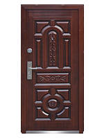 Входная металлическая дверь 150+ светлая медь