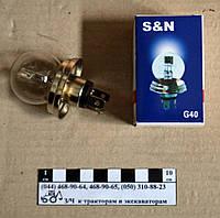 Лампа передней фары  А-12-75-70 (жигулёвская)