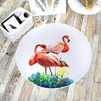 Коврик Фламинго 100 х 100 см Berni