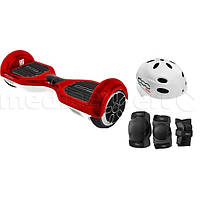 Новинка Электрический скейтборд smartboard FIAT 500 6.5 Красно-белый