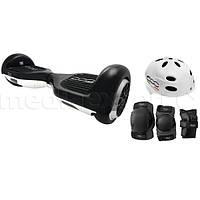 Новинка Электрический скейтборд smartboard FIAT 500 6.5 Черно-белый