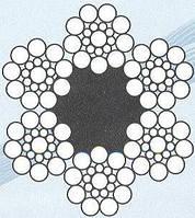 Канат лифтовой ГОСТ 3077-80 грузолюдской,Ф(мм)7,8
