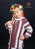 Вышиванка на девочку, арт. 0154