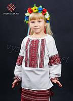 Вышиванка на девочку, арт. 0134