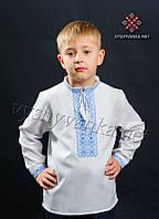 Вышиванка с длинным рукавом на мальчика, арт. 0104
