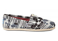 Женские TOMS Grey Palm Trees Women's Classics, фото 1