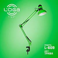 """Лампа настольная со струбциной """"Трава"""" L-609 (ТМ LOGA Light)"""