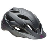 Шлем женский Bell Strut матовый титан/фиолетовый Slant, Uni (50-57см) (ОРИГИНАЛ)