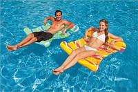 Пляжный надувной матрас-гамак Intex 58834G (Зелёный)