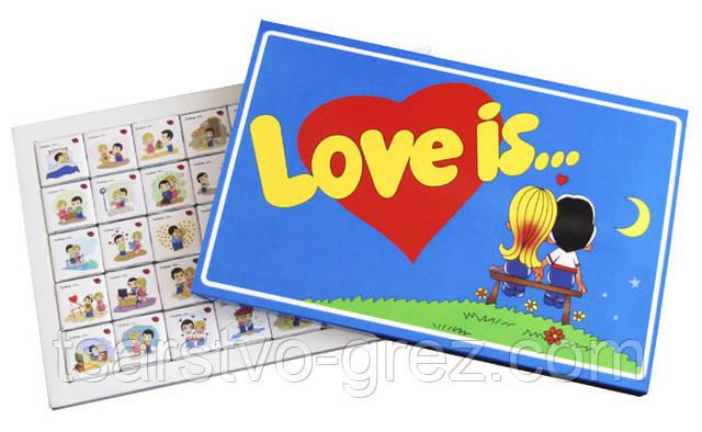 Шоколадный набор Love is 200 г