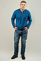 Мужской свитер Себостьян (голубой)