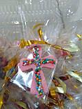 Хрестик з кольоровою посипкою, фото 5