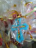 Хрестик з кольоровою посипкою, фото 6